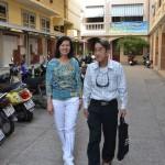 Diệu Trinh và Thầy Nguyễn Văn Đời